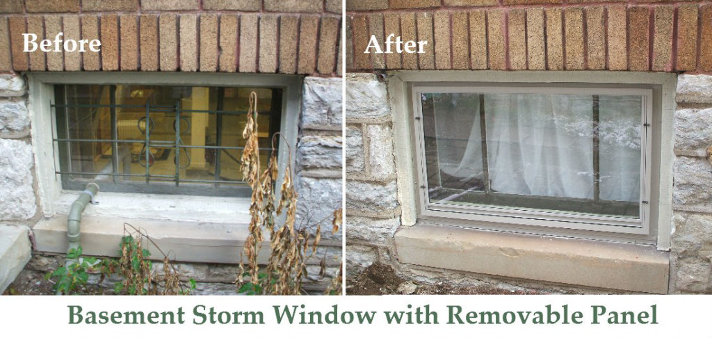 Heritage Wooden Window, Basement Storm Windows Size