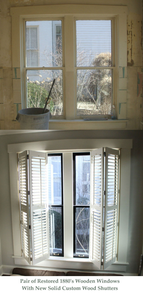 Heritage wooden window works repair restoration of - Interior storm windows for old houses ...